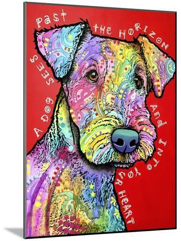 Into Your Heart-Dean Russo-Mounted Giclee Print