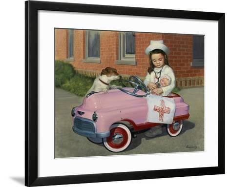 1949 Murray Comet-David Lindsley-Framed Art Print
