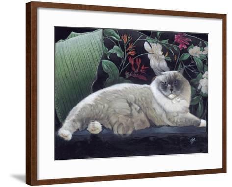Blue Sans Que-Durwood Coffey-Framed Art Print