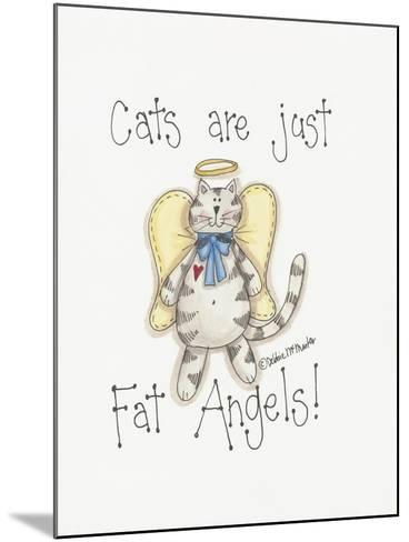 Fat Angels-Debbie McMaster-Mounted Giclee Print