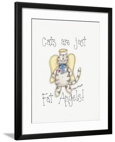 Fat Angels-Debbie McMaster-Framed Art Print