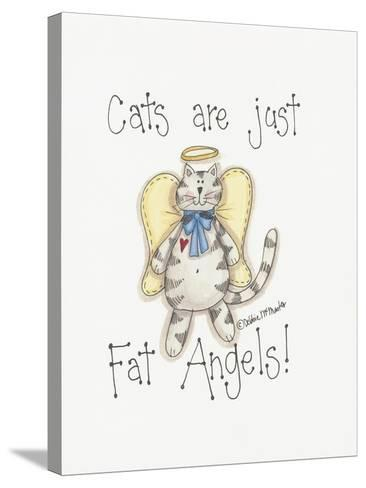 Fat Angels-Debbie McMaster-Stretched Canvas Print