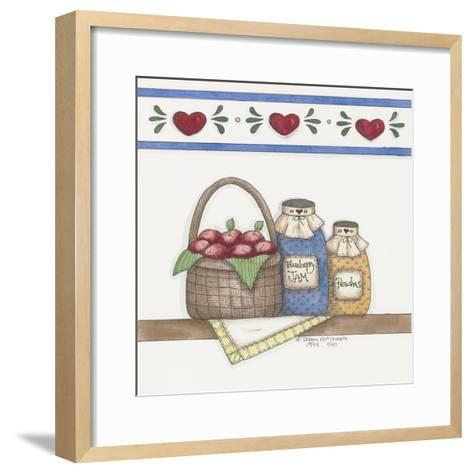 Blueberry Jam-Debbie McMaster-Framed Art Print