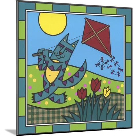 Max Cat Kite 1-Denny Driver-Mounted Giclee Print