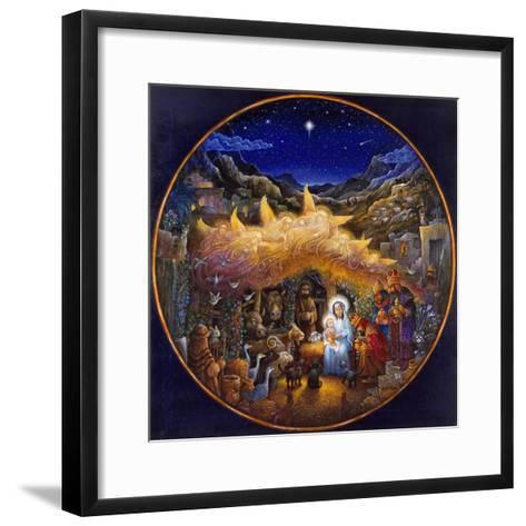 While Angels Watched...-Bill Bell-Framed Art Print