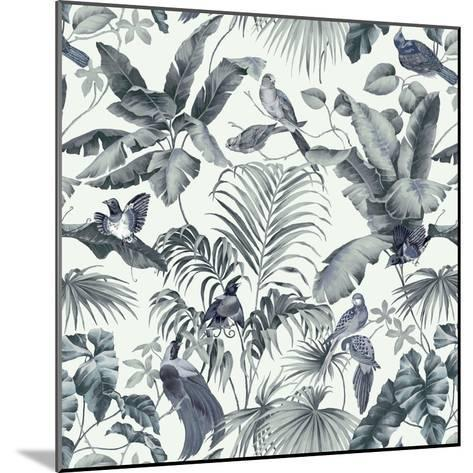 Jungle Canopy Steel Gray-Bill Jackson-Mounted Giclee Print