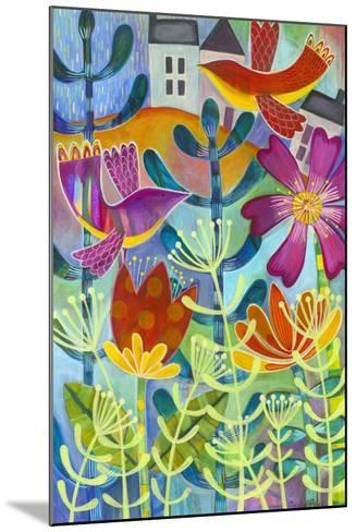 New Beginning-Carla Bank-Mounted Giclee Print