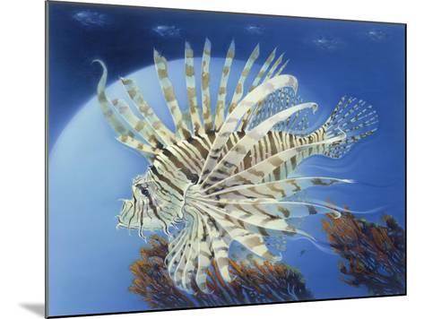 Lion Fish-Durwood Coffey-Mounted Giclee Print