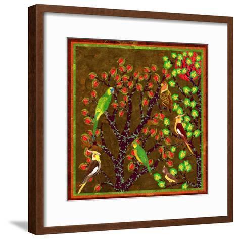 Bird Calls 21-David Sheskin-Framed Art Print