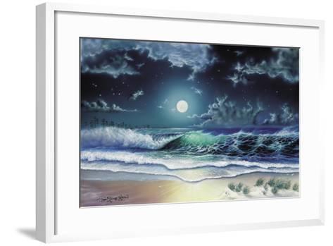 Enchanted Waters-Dann Spider-Framed Art Print