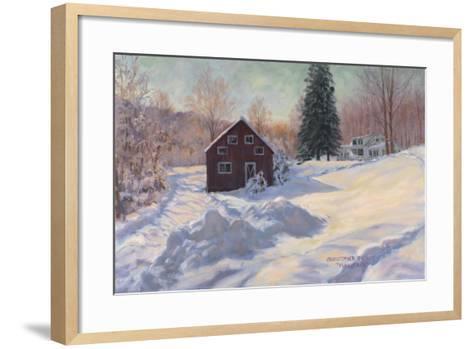 From My Studio in Winter-Christopher Pierce-Framed Art Print