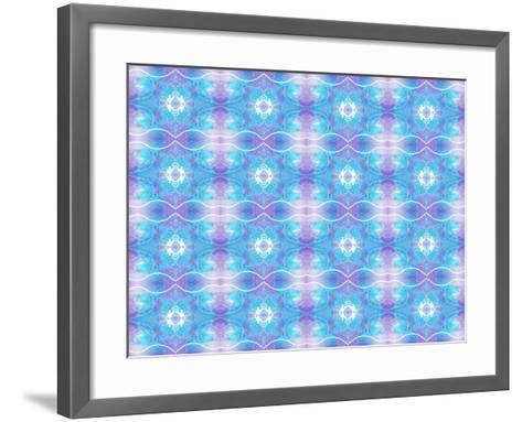 Purple and Blue Ethereal-Deanna Tolliver-Framed Art Print