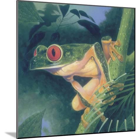 Tree Frog-Durwood Coffey-Mounted Giclee Print