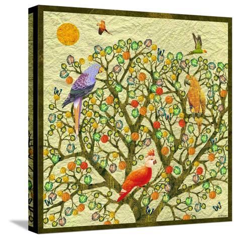 Bird Calls 46-David Sheskin-Stretched Canvas Print