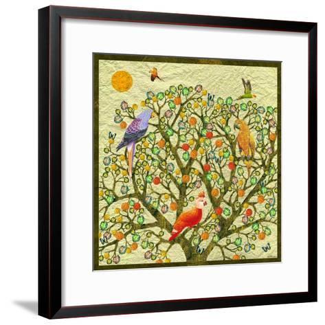 Bird Calls 46-David Sheskin-Framed Art Print