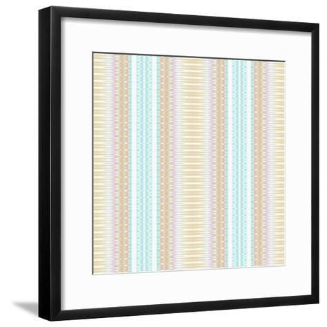 Baby Blue and Brown-Deanna Tolliver-Framed Art Print