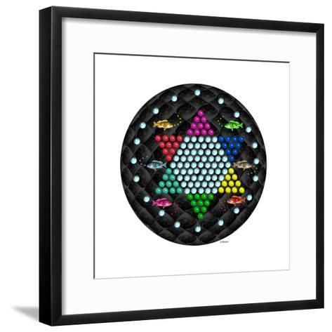 Fish Mandalas 63-David Sheskin-Framed Art Print