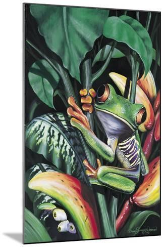Rainforest Prince-Dann Spider-Mounted Giclee Print