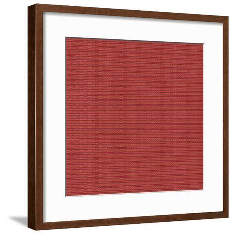 Red and Gold-Deanna Tolliver-Framed Art Print