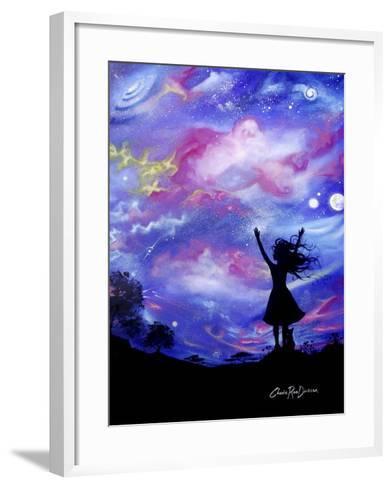 Cosmic Celebration-Cherie Roe Dirksen-Framed Art Print
