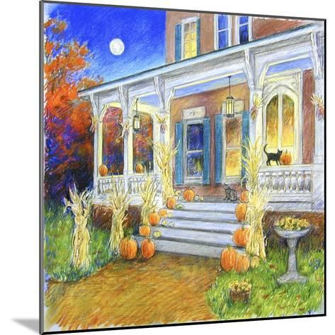 Halloween Porch-Edgar Jerins-Mounted Giclee Print