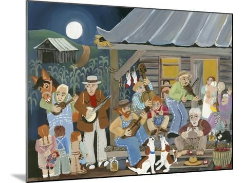 Bluegrass Buddies-Carol Salas-Mounted Giclee Print