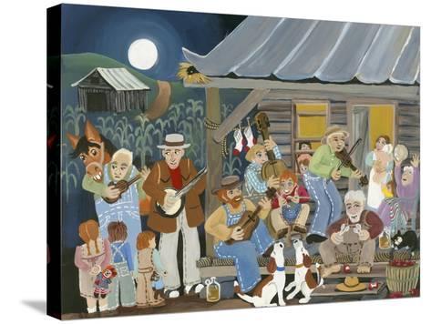 Bluegrass Buddies-Carol Salas-Stretched Canvas Print