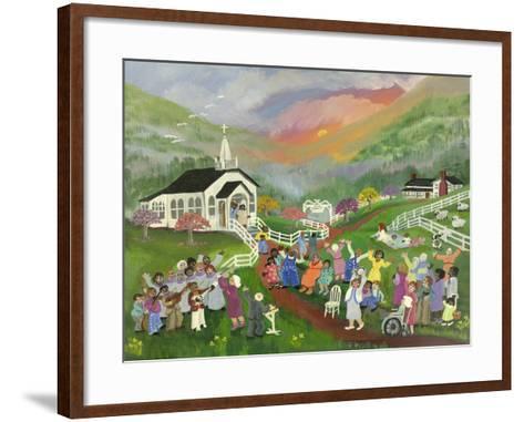 Sunrise Service-Carol Salas-Framed Art Print