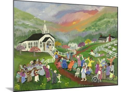 Sunrise Service-Carol Salas-Mounted Giclee Print