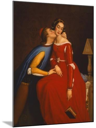 The Kiss-Edgar Jerins-Mounted Giclee Print