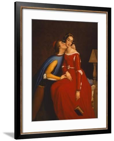 The Kiss-Edgar Jerins-Framed Art Print