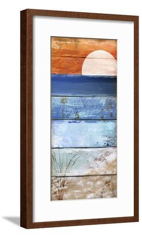Beach Moonrise II-Color Bakery-Framed Art Print