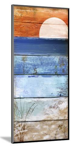 Beach Moonrise II-Color Bakery-Mounted Giclee Print