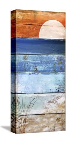 Beach Moonrise II-Color Bakery-Stretched Canvas Print