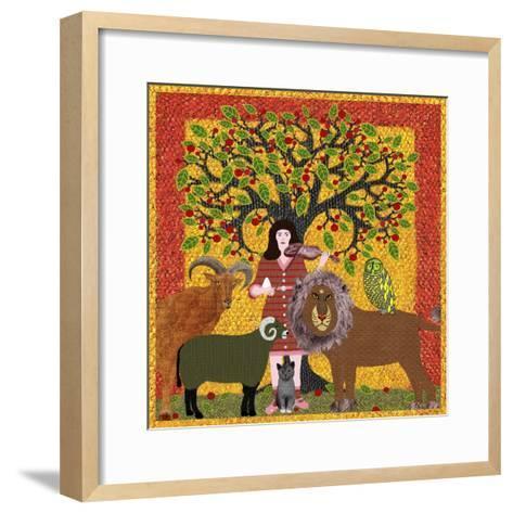 Peaceable Kingdom 12-David Sheskin-Framed Art Print