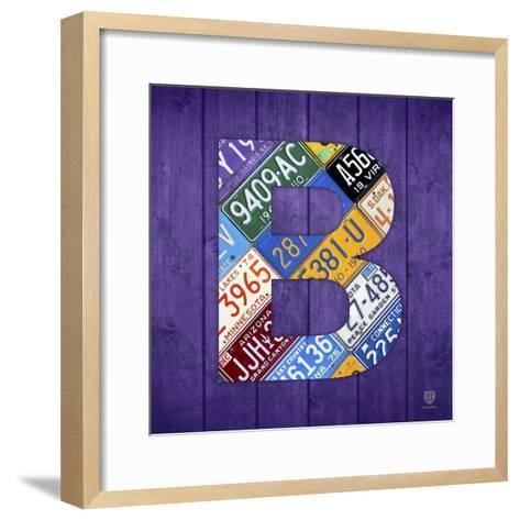 B-Design Turnpike-Framed Art Print