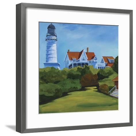 House at Two Lights-Catherine Breer-Framed Art Print