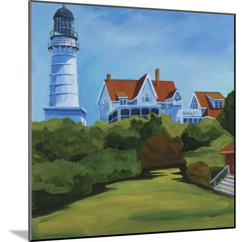 House at Two Lights-Catherine Breer-Mounted Giclee Print