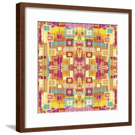 A Play of Squares-Deanna Tolliver-Framed Art Print