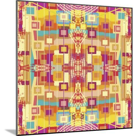 A Play of Squares-Deanna Tolliver-Mounted Giclee Print