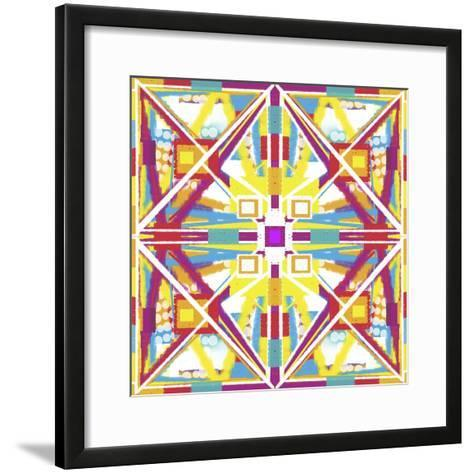 Abstract Cube-Deanna Tolliver-Framed Art Print