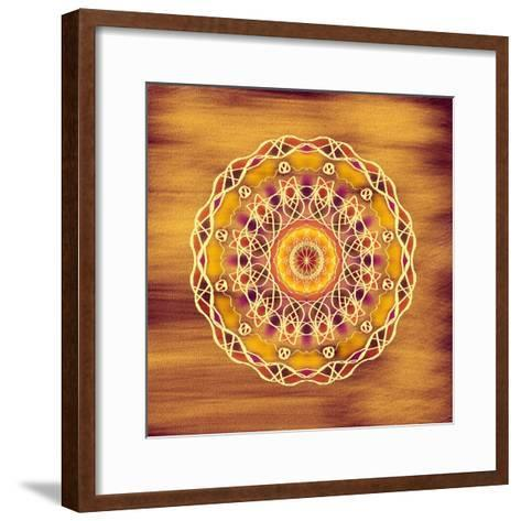 The Golden Disc-Deanna Tolliver-Framed Art Print