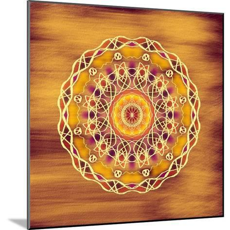 The Golden Disc-Deanna Tolliver-Mounted Giclee Print