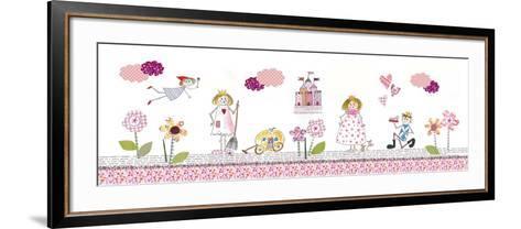 Cinderella-Effie Zafiropoulou-Framed Art Print