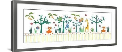 Jungle Theme-Effie Zafiropoulou-Framed Art Print
