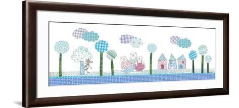 Three Little Pigs Theme-Effie Zafiropoulou-Framed Art Print