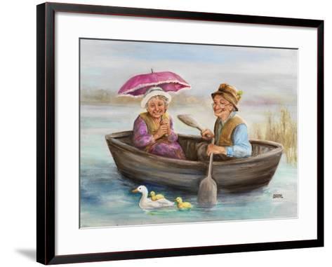 Elderly Couple-Dianne Dengel-Framed Art Print