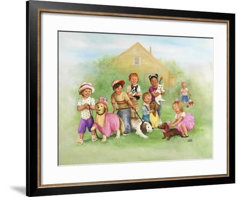 Children-Dianne Dengel-Framed Art Print