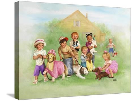 Children-Dianne Dengel-Stretched Canvas Print