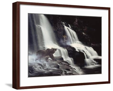 Intrusion-Gordon Semmens-Framed Art Print